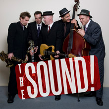 the sound corporate jazz band hire