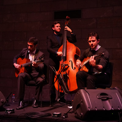 Melbourne Gypsy Swing Project Jazz Band Hire