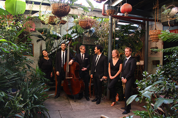 Paper Moon Jazz Band Hire