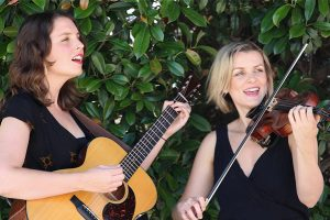 lisa and jane acoustic wedding music hire