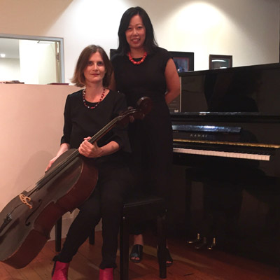 Cello and Piano Duo Hire