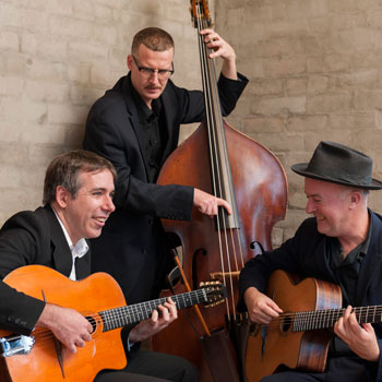 French Gypsy Jazz Band Hire