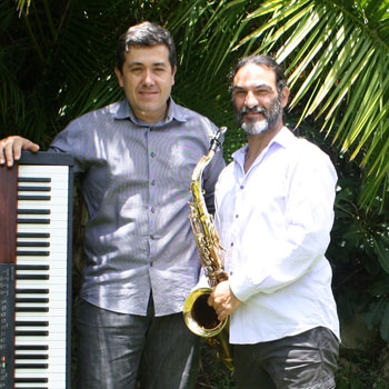 Keyboard, Sax, Vocal,  Percussion Duo for hire